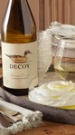 Decoy Chardonnay paired with savory yogurt