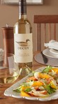 Decoy Sauvignon Blanc paired with citrus salad