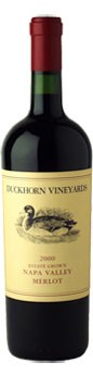 2000 Duckhorn Vineyards Estate Grown Merlot
