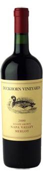 2000 Duckhorn Vineyards Estate Grown Merlot