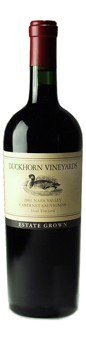 2001 Duckhorn Vineyards Estate Grown Stout Vineyard Cabernet Sauvignon
