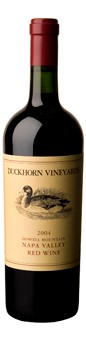 2004 Duckhorn Vineyards Howell Mountain Red Wine
