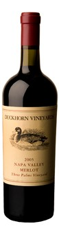 2005 Duckhorn Vineyards Three Palms Vineyard Merlot