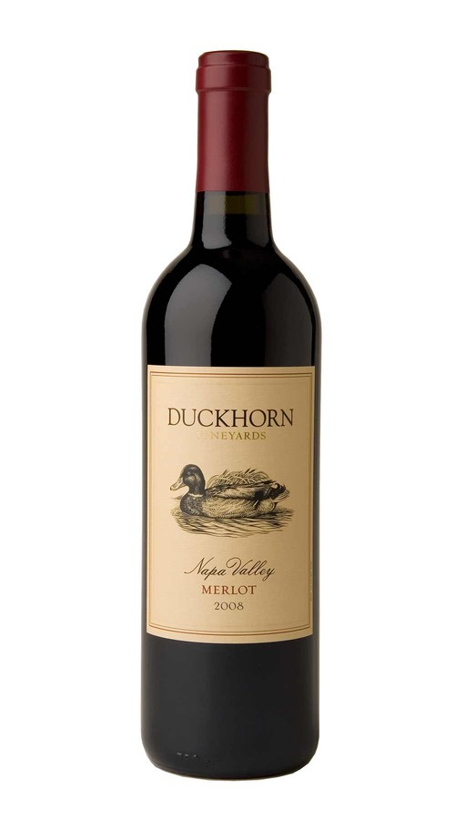 2008 Duckhorn Vineyards Napa Valley Merlot Image