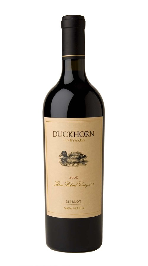 2008 Duckhorn Vineyards Napa Valley Merlot Three Palms Vineyard 3.0L