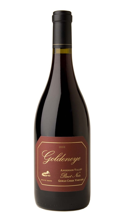 2008 Goldeneye Estate Grown Gowan Creek Vineyard Pinot Noir
