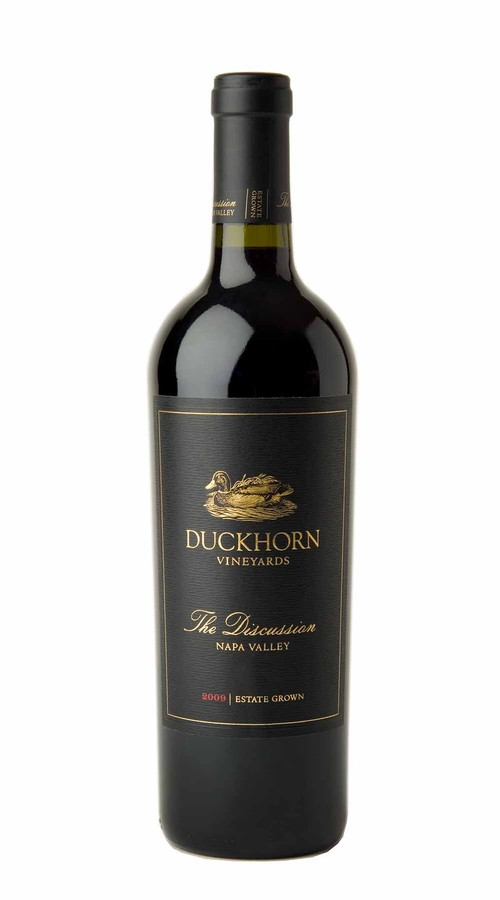 2009 Duckhorn Vineyards The Discussion Estate Grown Napa Valley Red Wine Image