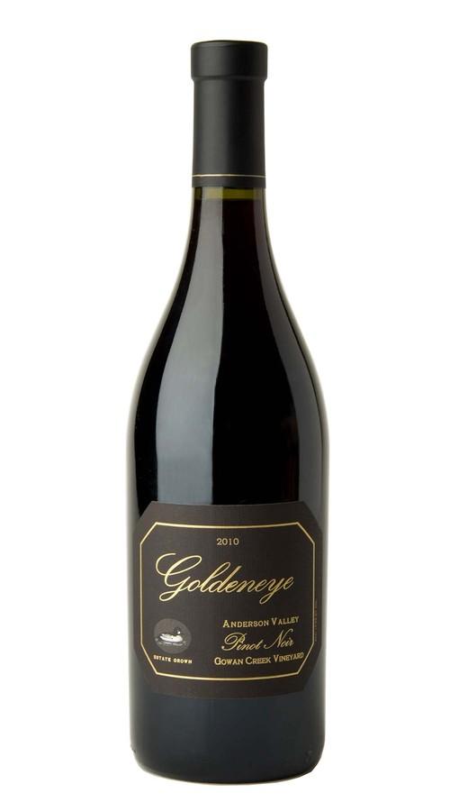2010 Goldeneye Anderson Valley Pinot Noir Gowan Creek Vineyard Image
