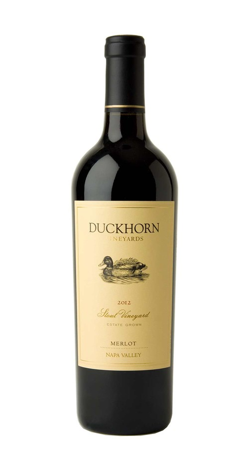2012 Duckhorn Vineyards Napa Valley Merlot Stout Vineyard Image