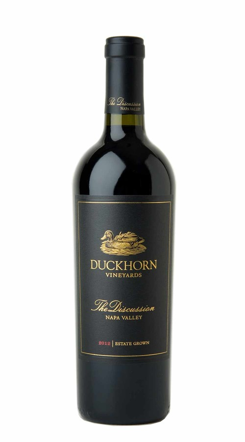 2012 Duckhorn Vineyards The Discussion Napa Valley Red Wine Image