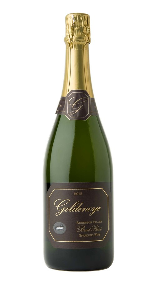 2012 Goldeneye Anderson Valley Brut Rose Sparkling Wine