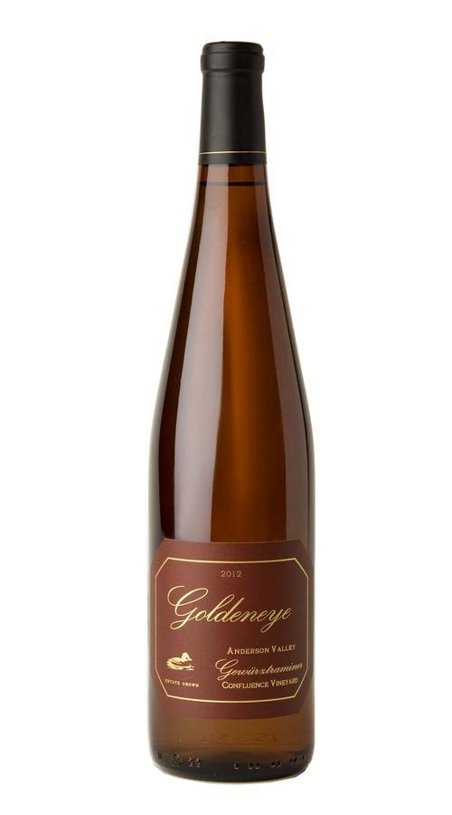 2012 Goldeneye Anderson Valley Estate Grown Gewurztraminer Confluence Vineyard Image