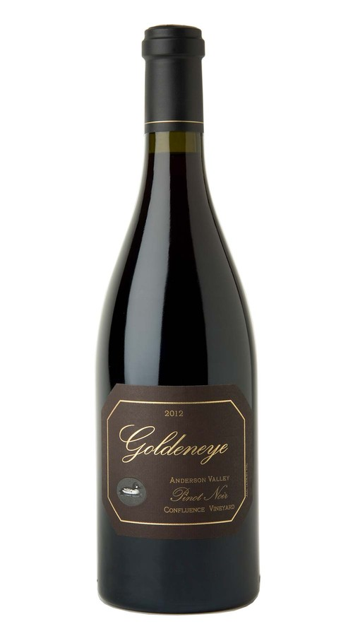 2012 Goldeneye Anderson Valley Pinot Noir Confluence Vineyard Image