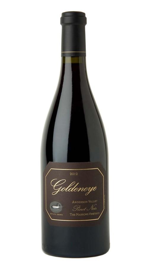 2012 Goldeneye Anderson Valley Pinot Noir The Narrows Vineyard Image