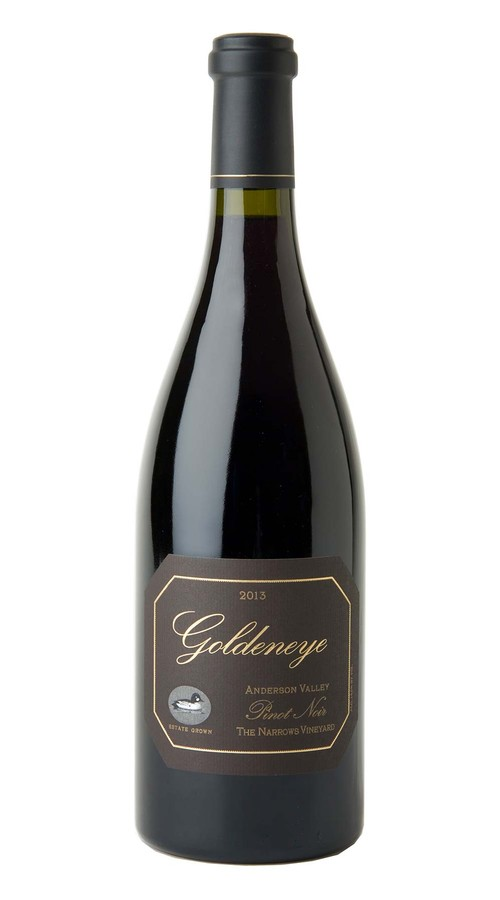 2013 Goldeneye Anderson Valley Pinot Noir The Narrows Vineyard Image