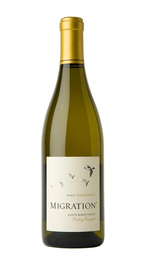 2013 Migration Santa Maria Valley Chardonnay Dierberg Vineyard Image
