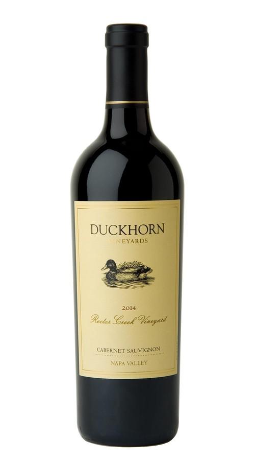 2014 Duckhorn Vineyards Napa Valley Cabernet Sauvignon Rector Creek Vineyard