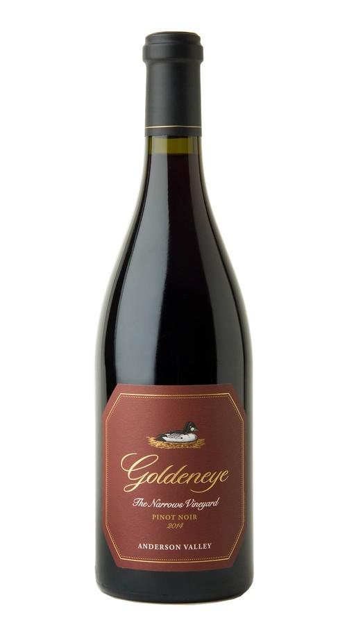 2014 Goldeneye Anderson Valley Pinot Noir The Narrows Vineyard Image