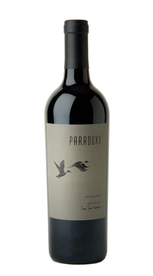 2014 Paraduxx Napa Valley Red Wine Cork Tree Vineyard Image