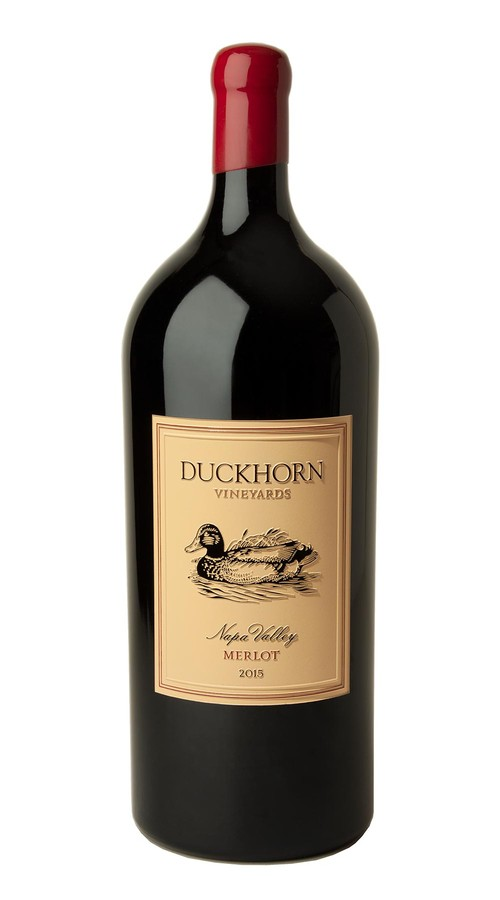 2015 Duckhorn Vineyards Napa Valley Merlot 6.0L (Etched)
