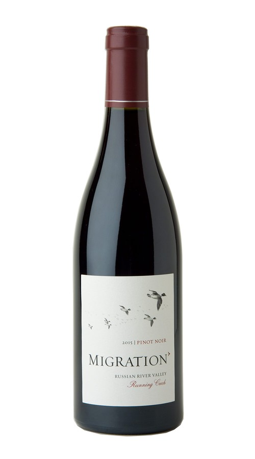 2015 Migration Russian River Valley Pinot Noir Running Creek Vineyard Image