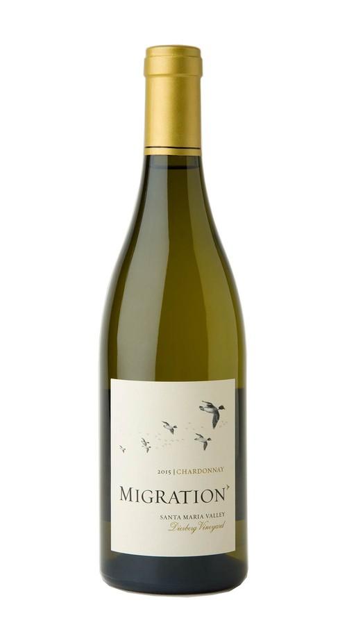 2015 Migration Santa Maria Valley Chardonnay Dierberg Vineyard Image
