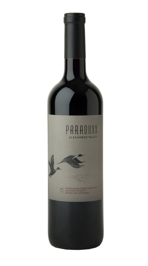 2015 Paraduxx Winemaker Series Red Wine Ridgeline Vineyard Image