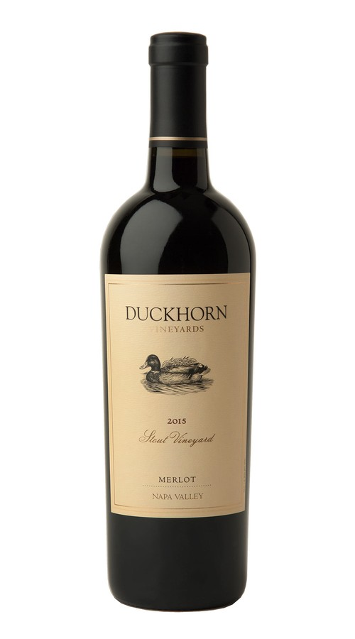 2015 Duckhorn Vineyards Napa Valley Merlot Stout Vineyard Image