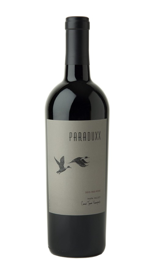 2015 Paraduxx Napa Valley Red Wine Cork Tree Vineyard Image