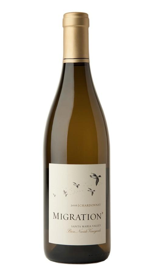 2016 Migration Santa Maria Valley Chardonnay Bien Nacido Vineyard Image