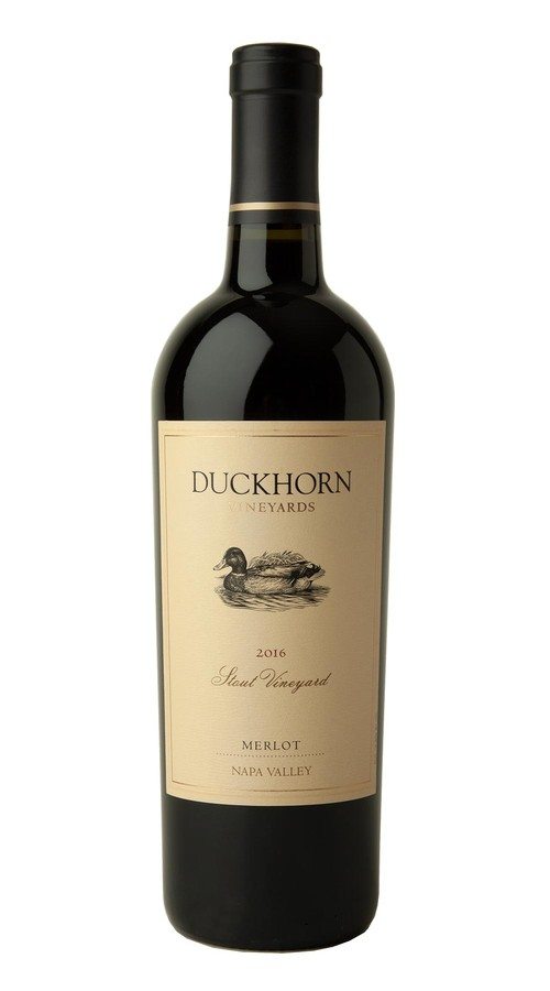 2016 Duckhorn Vineyards Napa Valley Merlot Stout Vineyard