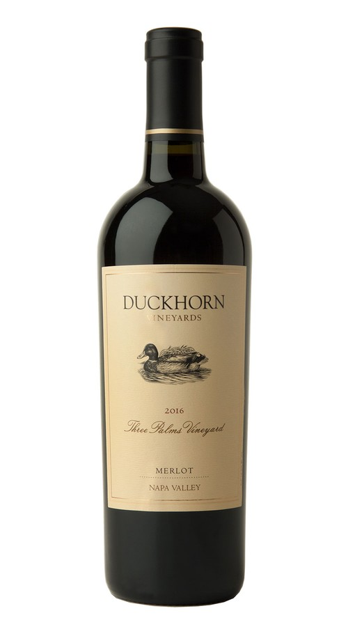 2016 Duckhorn Vineyards Napa Valley Merlot Three Palms Vineyard