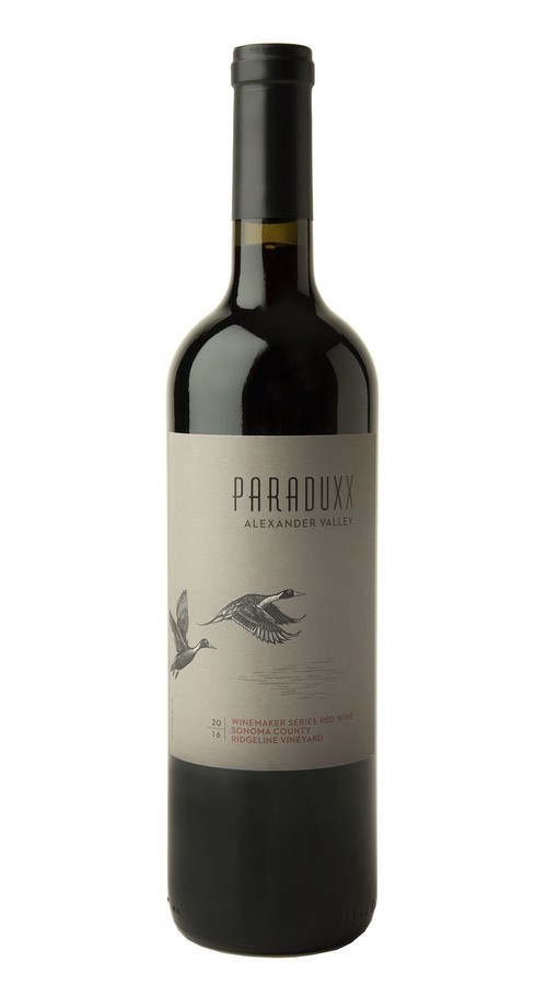 2016 Paraduxx Winemaker Series Red Wine Ridgeline Vineyard Image