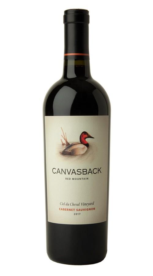 2017 Canvasback Red Mountain Cabernet Sauvignon Ciel du Cheval Vineyard 1