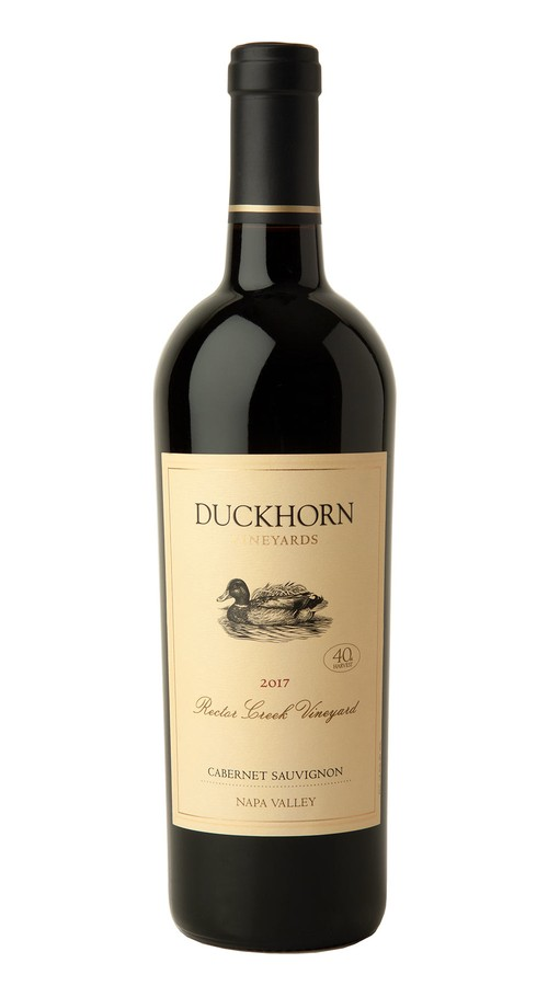2017 Duckhorn Vineyards Napa Valley Cabernet Sauvignon Rector Creek Vineyard