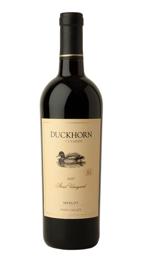 2017 Duckhorn Vineyards Napa Valley Merlot Stout Vineyard