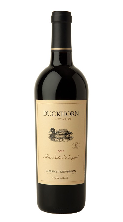 2017 Duckhorn Vineyards Napa Valley Cabernet Sauvignon Three Palms Vineyard