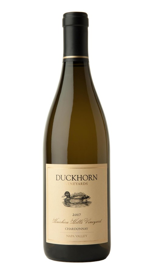 2017 Duckhorn Vineyards Napa Valley Chardonnay Huichica Hills Vineyard