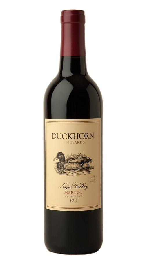 2017 Duckhorn Vineyards Atlas Peak Napa Valley Merlot
