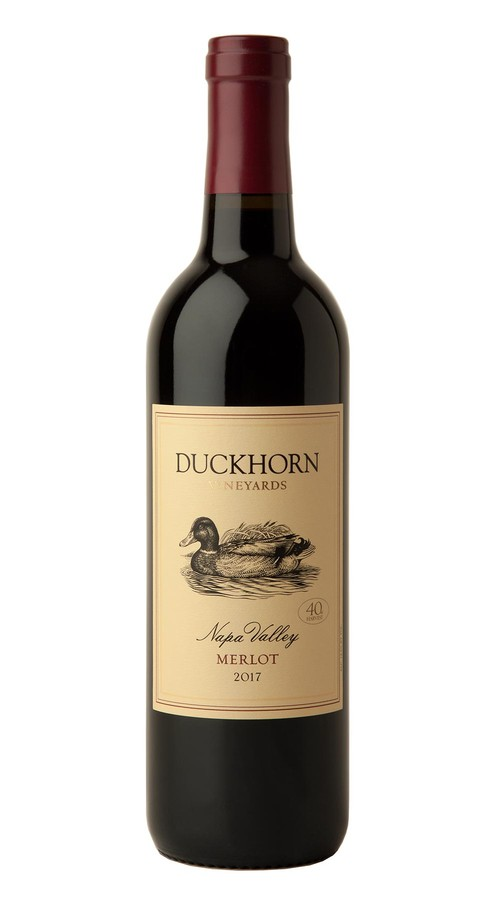 2017 Duckhorn Vineyards Napa Valley Merlot