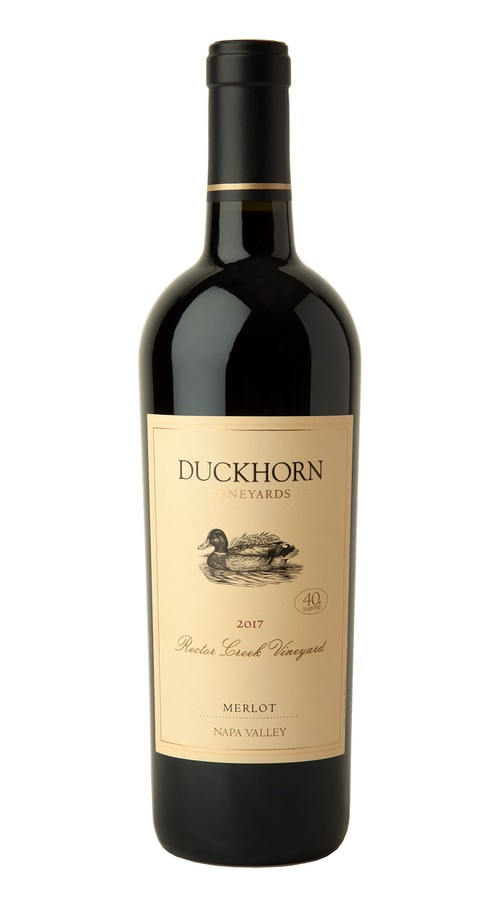 2017 Duckhorn Vineyards Napa Valley Merlot Rector Creek Vineyard