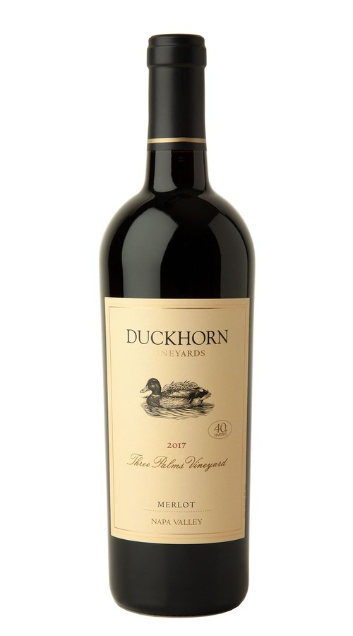 2017 Duckhorn Vineyards Napa Valley Merlot Three Palms Vineyard