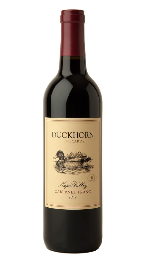 2017 Duckhorn Vineyards Napa Valley Cabernet Franc