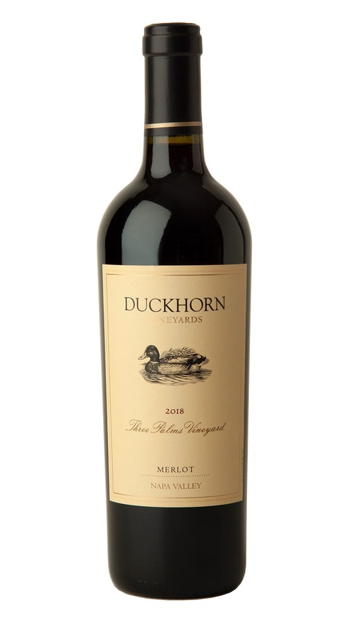 2018 Duckhorn Vineyards Napa Valley Merlot Three Palms Vineyard