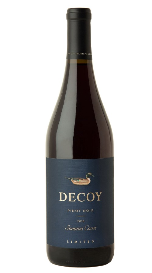 2018 Decoy Limited Sonoma Coast Pinot Noir