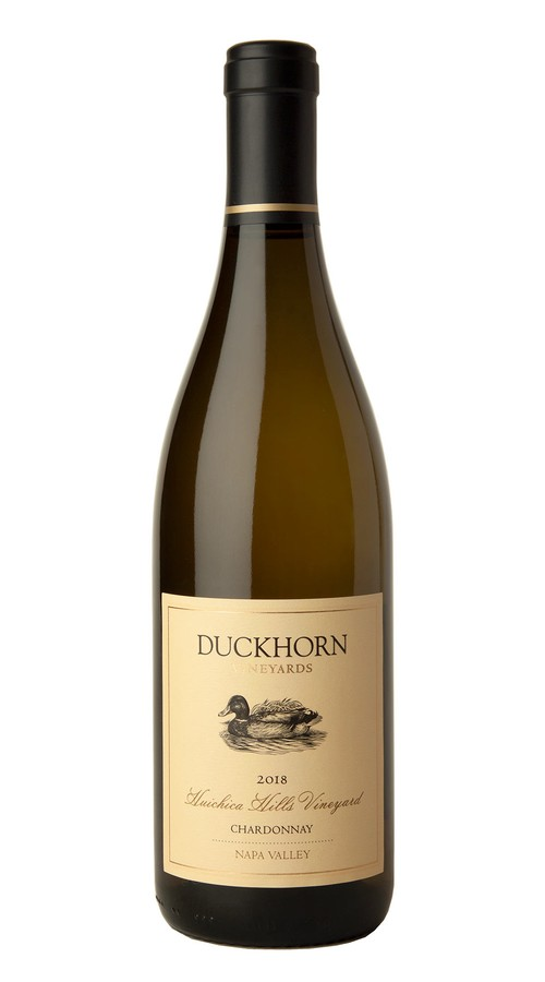2018 Duckhorn Vineyards Napa Valley Chardonnay Huichica Hills Vineyard