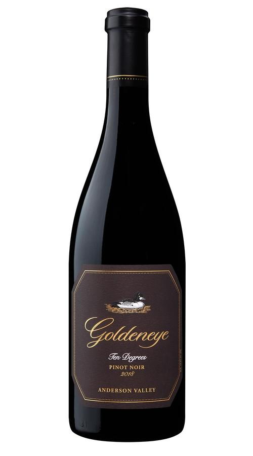 2018 Goldeneye Ten Degrees Anderson Valley Pinot Noir