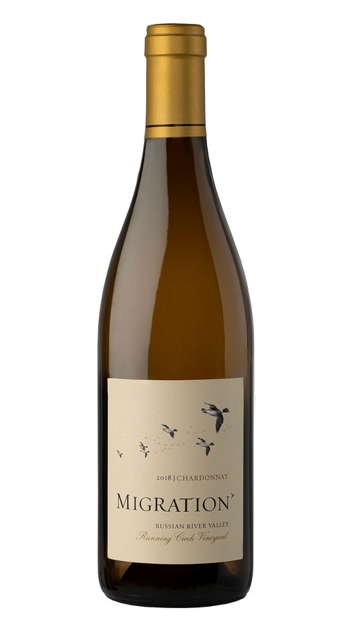 2018 Migration Russian River Valley Chardonnay Running Creek Vineyard