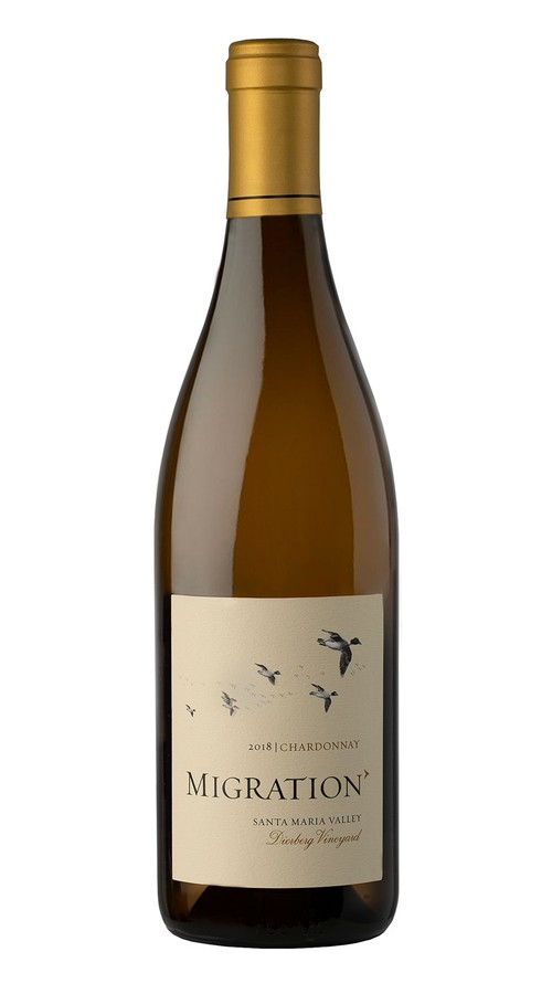 2018 Migration Santa Maria Valley Chardonnay Dierberg Vineyard