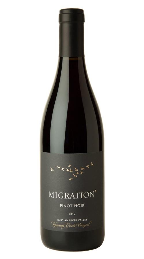 2019 Migration Russian River Valley Pinot Noir Running Creek Vineyard
